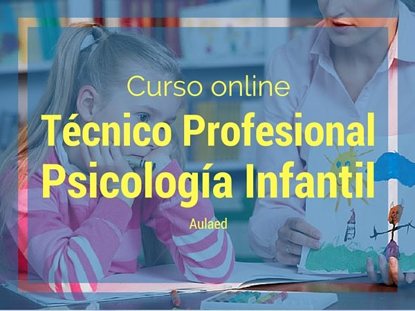 Curso Psicología infantil