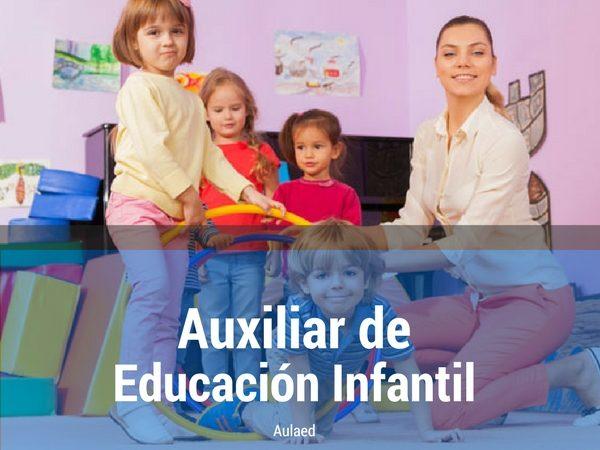 Curso Auxiliar de Educacion Infantil
