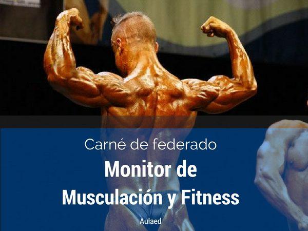 Curso Carne Federado Monitor de musculacion y fitness