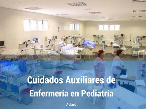 Curso Cuidados auxiliares en Pediatria