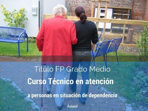 Curso de FP de Grado Medio de Tecnico en atencion a personas en situacion de dependencia