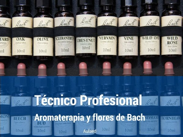 Curso Tecnico en Aromaterapia y Flores de Bach
