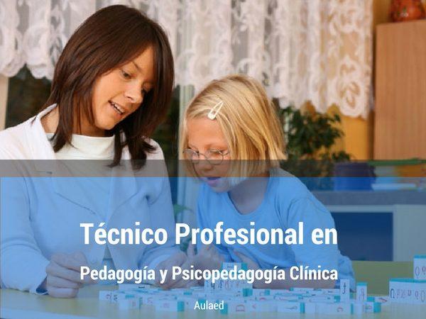 Curso Tecnico Profesional en Pedagogia y Psicopedagogia Clinica