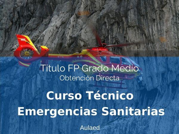 Curso Tecnico en Emergencias Sanitarias