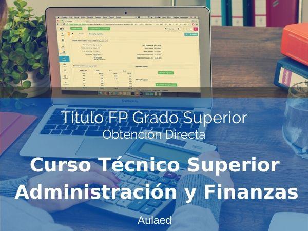 Curso Tecnico Superior en Administracion y Finanzas